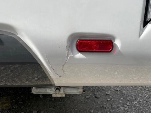 caravan fibreglass repair