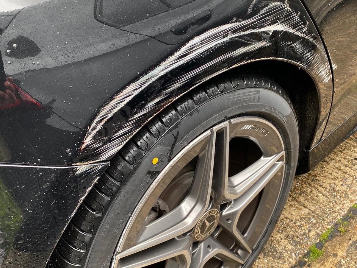 minor car damage repair