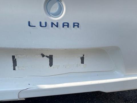 Caravan plasitc repair